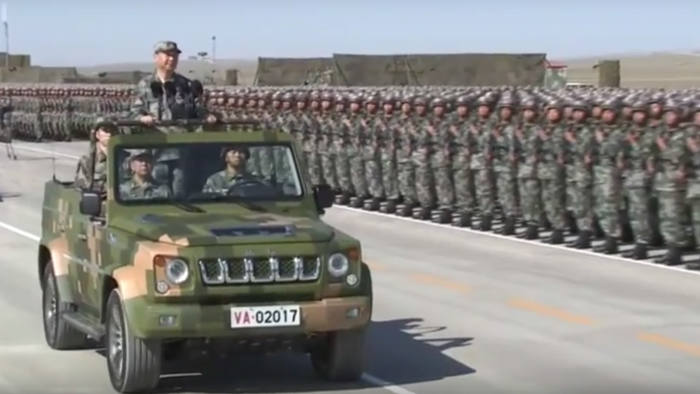 Chinese president Xi reviews troops in elaborate PLA 'birthday' parade |  Financial Times
