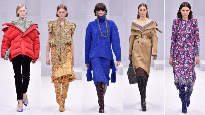 Balenciaga AW16 show report Paris Fashion Week | Financial Times