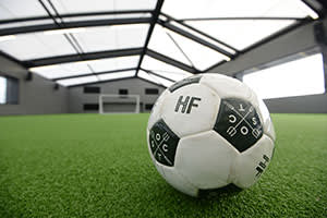 Hotel Football's rooftop pitch