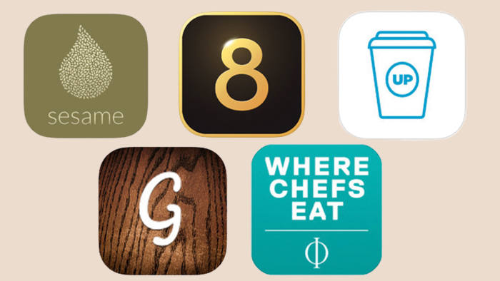 icons of food apps