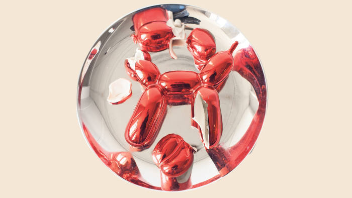Pieces of Jeff Koons' 'Balloon Dog (Red)' (1995)