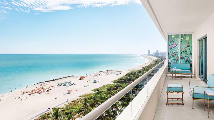 Faena Hotel balcony