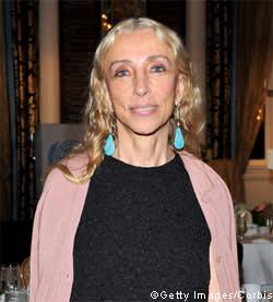 Italian Vogue editor Franca Sozzani
