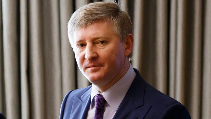 Rinat Leonidovych Akhmetov, a Ukrainian businessman and oligarch