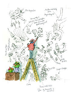Cover illustration by Quentin Blake, exclusively for FT Weekend Magazine