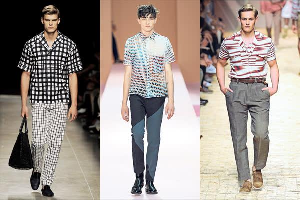 Designs by Bottega Veneta; Paul Smith; Missoni