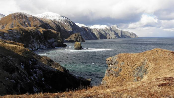 Big Read feature by Kathrin Hille - Kuril Islands - Pacific coast of Shikotan