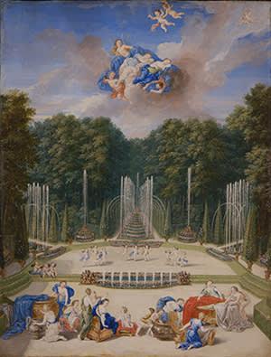 'Vue du bosquet du Théâtre d'eau' by Jean Cotelle