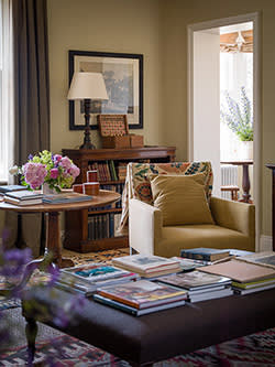 The sitting room of a home by Ben Pentreath