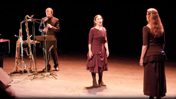 Meredith Monk performing 'Ascension Variations'