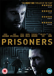DVD cover, Prisoners