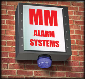 Illustration by James Ferguson of an alarm system