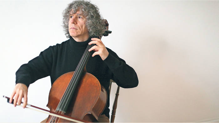 Cellist Steven Isserlis, photographed in London last month