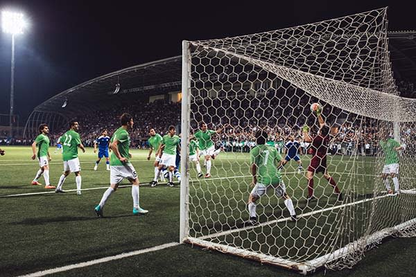 Abkhazia football team at the World Cup of Unrecognized States 2016