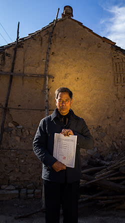 Zhang Shuangbing travelled through Shanxi and Hebei provinces to document the lives of former comfort women