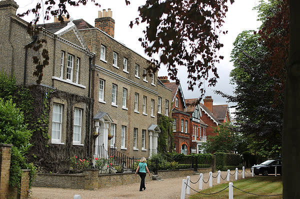 Homes in College Road opposite Dulwich Picture Gallery