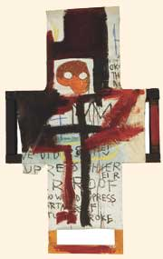 'Crisis X' by Jean-Michel Basquiat