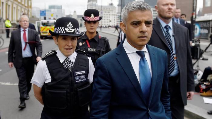 London mayor accuses May of underfunding capital's security