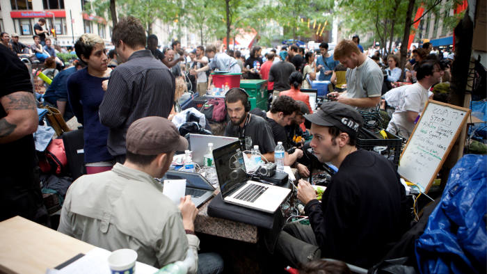OccupyWall Street movement
