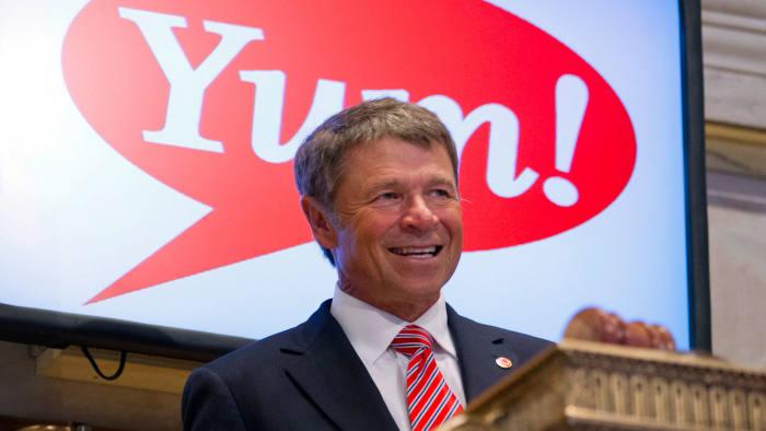 Yum chief executive David Novak
