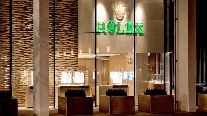 Rolex by the Watch Gallery at One Hyde Park