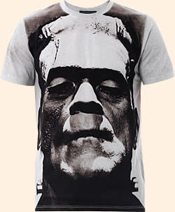 Christopher Kane's collection of T-shirts printed with Boris Karloff as Frankenstein's monster