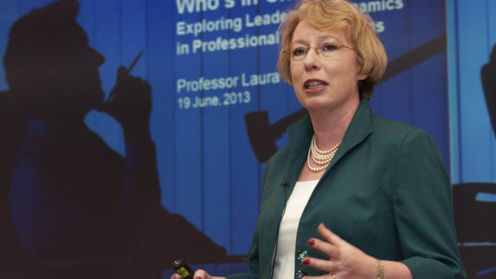 Prof Laura Empson, director of the Centre for Professional Service Firms, Cass Business School