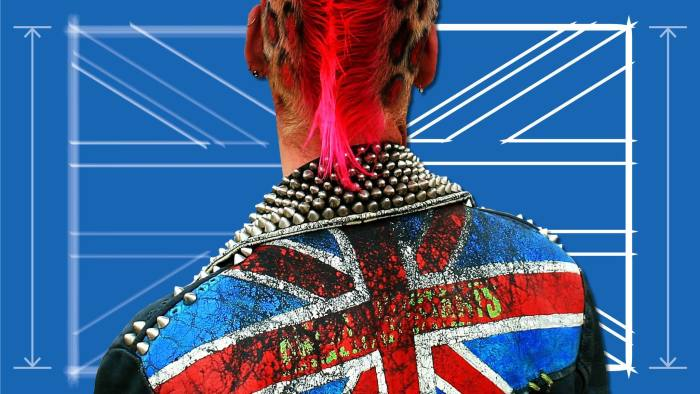 Punks subverted the Union Jack in ironic gestures of anarchy