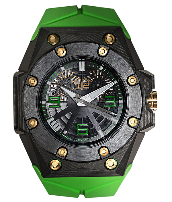 Oktopus Double Date Carbon Green