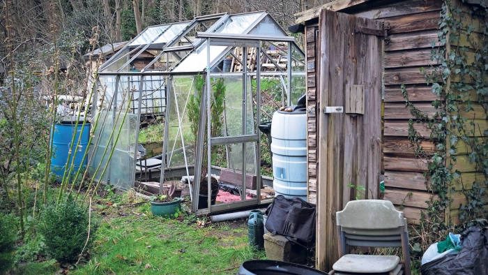 Fruits of frugality: how to restore a greenhouse on a tiny budget
