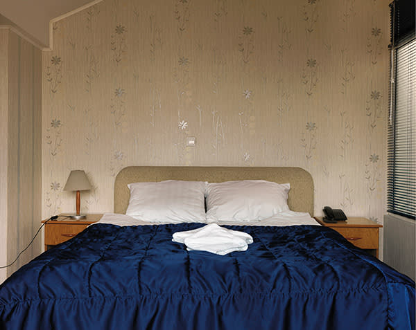 Macedonia. The room in the Skopski Merak hotel where Khaled el-Masri was held by Macedonian officials in January 2004; May 2015
