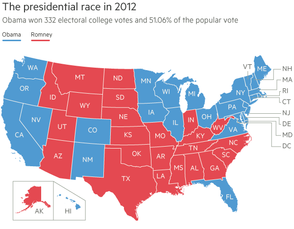 US election night: a guide to results timetable | Financial ...