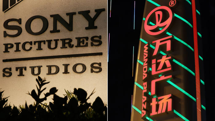 Sony Pictures And Wanda In Tie Up To Market Films In China Financial Times