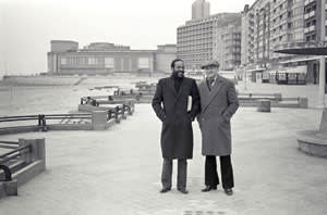 Marvin Gaye and Freddy Cousaert