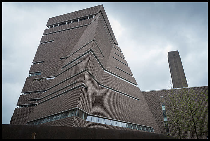 The Tate Modern gallery extension — the Switch House, aka the Blavatnik Building