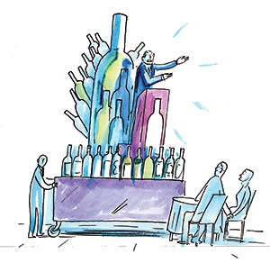 Illustration for Jancis Robinson's column