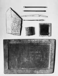 Roman writing materials