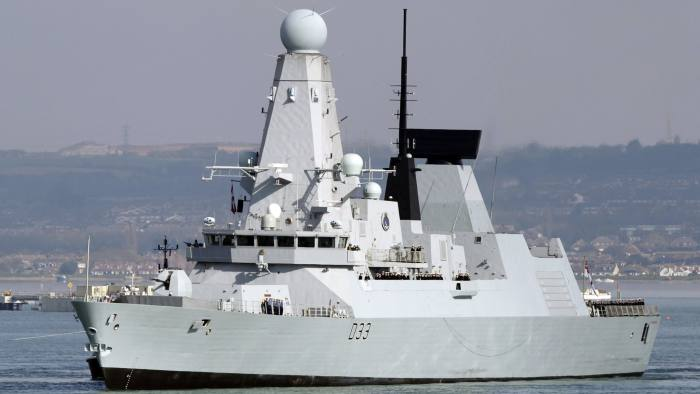 Royal Navy warships cannot take the heat, MPs told
