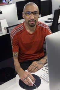 Thibaut Noah, 28 year-old student