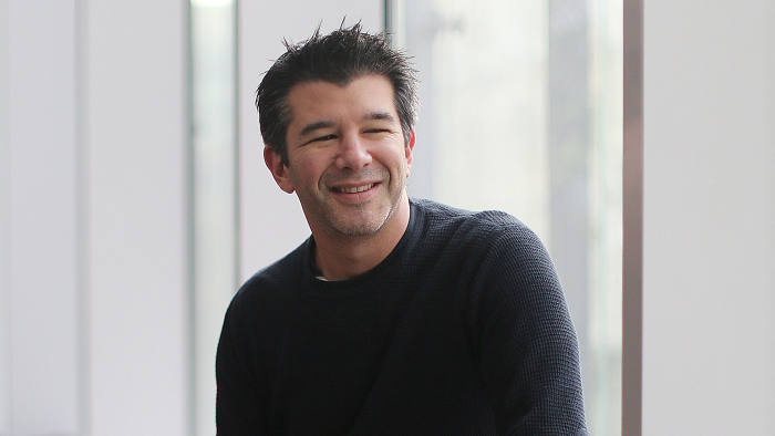 Travis Kalanick, chief executive and co-founder, Uber