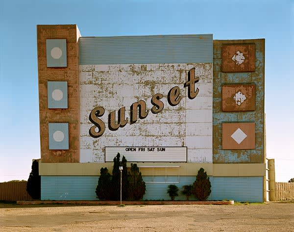 West Ninth Avenue Amarillo Texas 2 October 1974 From the Uncommon Places series by Stephen Shore