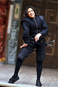 Kathryn Hunter as Richard III at Shakespeare's Globe in 2003