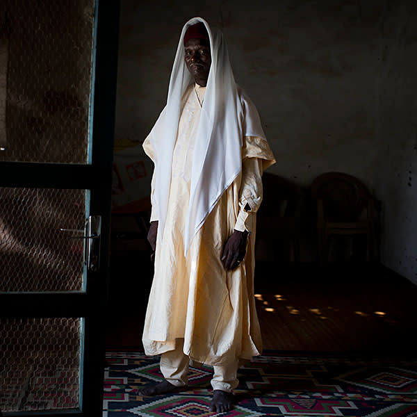 Youssef Mbodou Mbami, the traditional chief of the Bol region