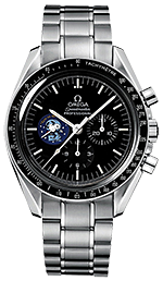 Omega Moon watch Silver Snoopy Award 45th Anniversary Chronograph