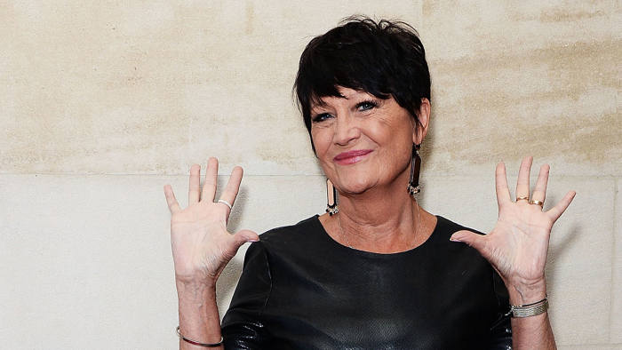 Sandie Shaw at the Xperia Access Q Awards at The Grosvenor House Hotel on October 22 2014 in London
