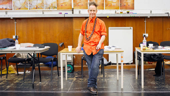 Peter Sellars, photographed for the FT at English National Opera