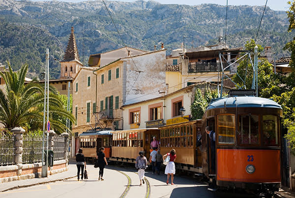 The tram at Sóller