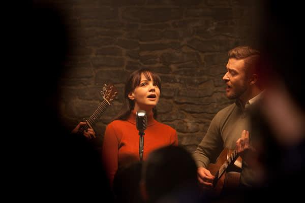 Carey Mulligan and Justin Timberlake in 'Inside Llewyn Davis'
