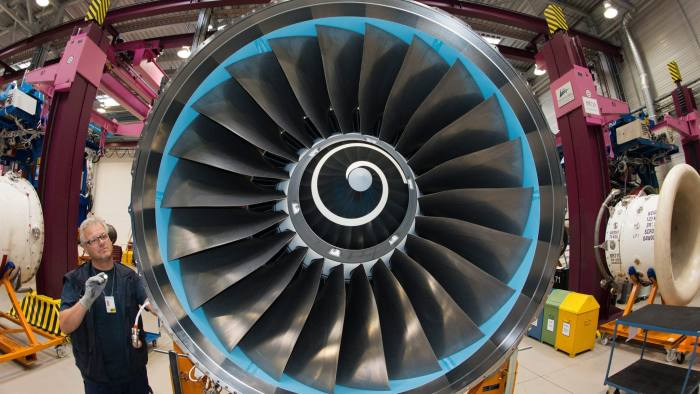 Rolls-Royce chief executive backs diversification strategy