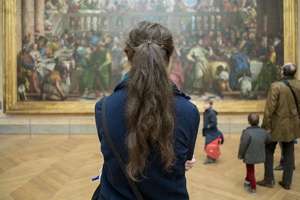 'Mona Lisa', Louvre, Paris, France